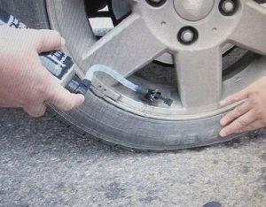 Герметик для автомобильных шин